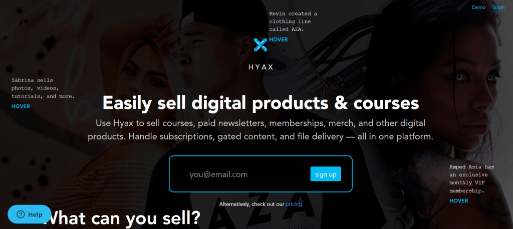 Getting started with Hyax