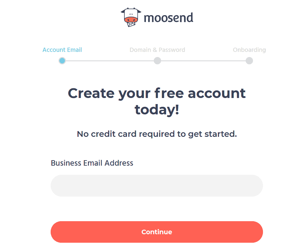 Getting started with Moosend