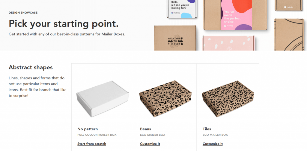Packhelp templates
