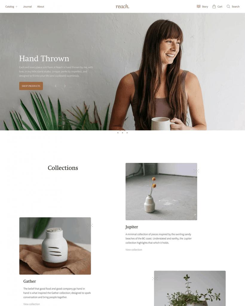 Reach Shopify Theme